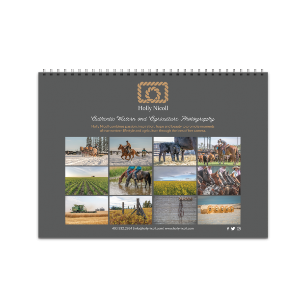 2019 Cowboys Horses and Landscapes Calendar
