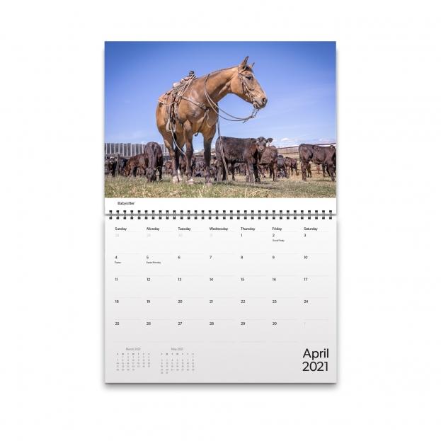 April 2021 Calendar Image