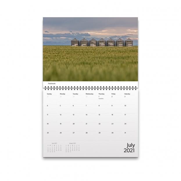 July 2021 Calendar Image