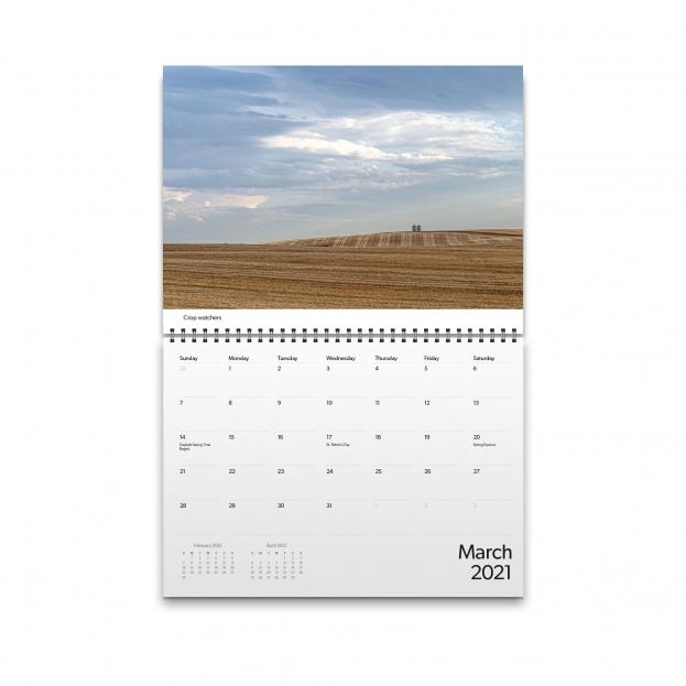March 2021 Calendar Image